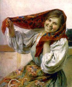 Художник Федот Васильевич Сычков (1887-1958) » Перуница