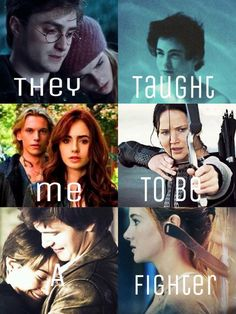 Harry, Percy, and Katniss taught me…