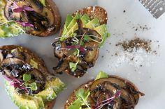 Avocado Mushroom Toast [JUNE FEATURED RECIPE]