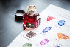 Need to try the Monteverde Gemstone inks - beautiful colors and shading!