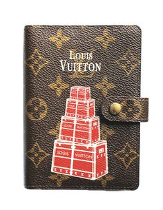 Louis Vuitton Small Ring Agenda Cover - Red Trunks