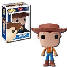 Amazon.com: Toy Story Woody POP Disney Pop! Vinyl Figure: Toys & Games