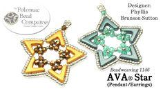 AVA Star (Pendant or Earrings) DIY Tutorial