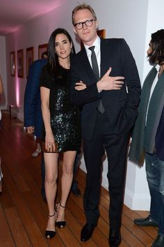 Jennifer Connelly in Gucci and Paul Bettany - Cannes 2012 Vanity Fair and Gucci Party