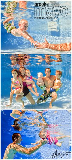 outer banks underwater family portraits
