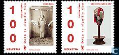 Postzegels - Zwitserland [CHE] - DaDa kunst