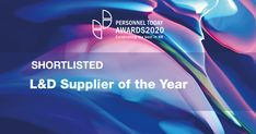 We are  proud to announce that we have been shortlisted as a finalist for 'L&D Supplier of the Year' at the 2020 Personnel Today Awards. The winner will be announced on the 26 November 2020 and we're all looking forward to it! What Is Resilience, 26 November, Hope For The Future, Behavior Change, Mean People, Learning Process, Experiential, Health And Wellbeing, Training Programs