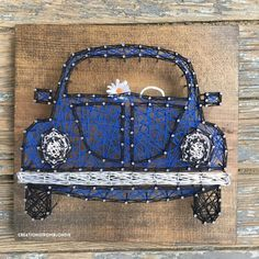 MADE TO ORDER Car String Art Sign by CreationsFromBlondie on Etsy