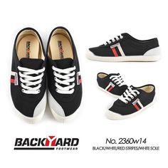 Backyard Footwear.  Black Tivoli model.