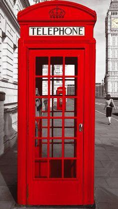 Londoner Telefonzelle :)