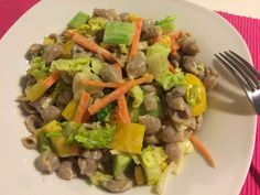TĚSTOVINOVÝ SALÁT #vegan #těstoviny #salát #zelenina #kukuřice