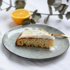 Try this vegan orange coconut cake with coconut frosting. It's delicious! (in German)