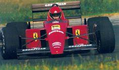1988 Ferrari 639 (wczesna wersja) Dario Benuzzi test