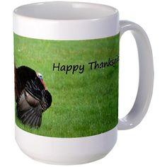 Happy Thanksgiving Mugs on CafePress.com