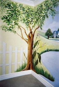 concrete wall mural painting ideas - Google Search