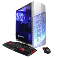 CyberPowerPC - Gamer Ultra Desktop - AMD FX-Series - 8GB Memory - AMD Radeon R7 240 - 1TB Hard Drive - White