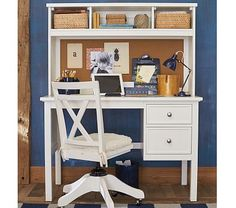 Elliott Desk & Hutch #pbkids