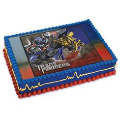 Transformers Optimus Prime and Bumblebee Edible by BigCatCrafts, $7.50