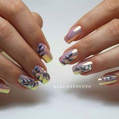 Hot Trendy Nail Art Designs that You Will Love Diy Nail Designs, Acrylic Nail Designs, Acrylic Nails, Nails Only, Love Nails, Gel Nagel Design, Pointy Nails, Trendy Nail Art, Chrome Nails