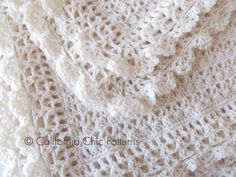 Ravelry: Victorian Baby Blanket #89 by Kyoko - Cali Chic Patterns