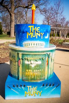 STL250 Cakes Cakeway to the West The Muny in Forest Park St