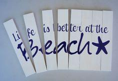 Burton Avenue: Beach Sign how-to
