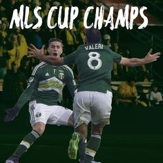 """Portland Timbers win the MLS Cup for the first time ever!"""