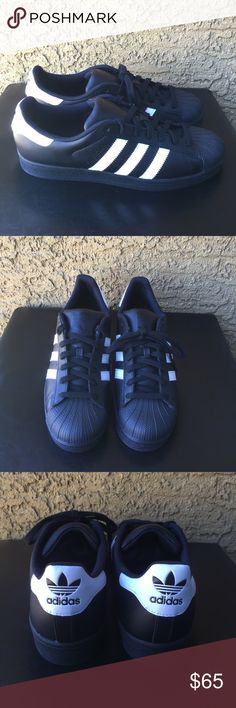 684a7429f Adidas Superstar Men s size 10 Worn twice