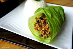 Chinese Chicken Lettuce Wraps: got good reviews! So easy! :o)