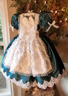 """""""Actually, The best gift you could have given her was a lifetime of adventures""""... Lewis Carroll Introducing... """"Through The Looking Glass""""... A Couture Alice In Wonderland Inspired Dress. From the ex"""