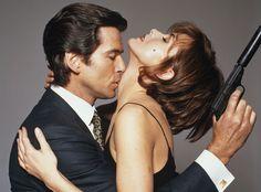 007 #18 1995 ••Golden Eye•• BondGirl 18: Izabella Scorupco (Poland) as Natalya Simonova (other BG: Famke Janssen, from Netherlands, as Xenia Onatopp) • Bond: Pierce Brosnan (his 1st Bond, the 5th to act as JB; finally replacing Timothy Dalton) • imdb: http://www.imdb.com/name/nm0001713/?ref_=tt_cl_t3 • wiki: http://en.wikipedia.org/wiki/Izabella_Scorupco • depicted: SuperStock.com 1606-150757