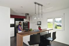 #kueche #kuecheninsel #weberhaus #kitchen