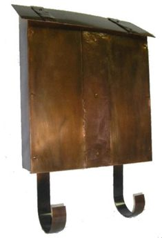 hand hammered craftsman mailbox - Google Search