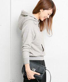 DOORS スウェットプルオーバーパーカー(パーカー)|URBAN RESEARCH DOORS WOME...(アーバンリサーチ ドアーズ ウィメンズ)のファッション通販 - ZOZOTOWN
