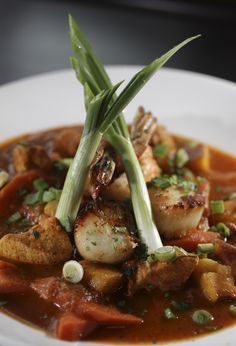 75 on Liberty Wharf: Seafood stew.