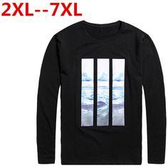 10XL 8XL 6XL 5XL Spring Long Sleeve T Shirt Men brand clothing quality Slim Fit Men Casual Long TShirts Long-Sleeve T-Shirt men #Affiliate