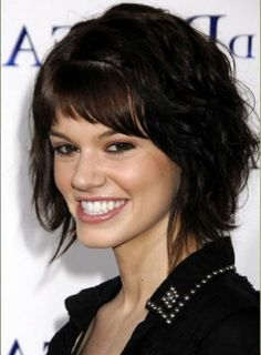 Hairstyles For Curly Thick Frizzy Hair 35 Short Wavy Hair 2012 . Thick Hair Updo, Thick Frizzy Hair, Short Hairstyles For Thick Hair, Short Layered Haircuts, Haircuts For Curly Hair, Haircut For Thick Hair, Short Wavy Hair, Layered Hairstyles, Trendy Haircuts
