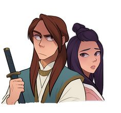 Scribble yu Character Illustration