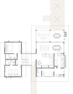 Plano de casa de campo