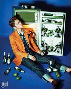 Hong Jong Hyun - Vogue Girl Magazine May Issue '15