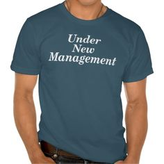 UNDER NEW MANAGEMENT NEWLYWED GIFT TSHIRTS T Shirt, Hoodie Sweatshirt