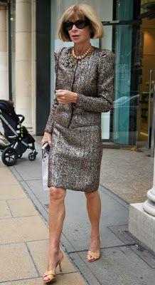 GOLDEN DREAMLAND: Style Icon: Anna Wintour