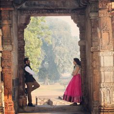 Another one from our prewedding photoshoot in #Delhi