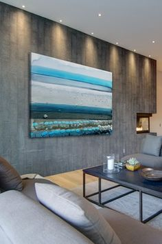 Great example of the proper use of Wall Art as a color compliment. Visit our Beach Wall Art designs at http://www.visionbedding.com/WallArt/Beach.php