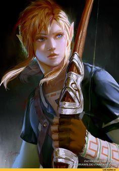 Link,The Legend of Zelda,фэндомы,zumidraws,artist