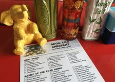 Free Printable Grog Log Checklist! Perfect for tracking your Tonga Hut progress at home or for doing the challenge on your own. Click to find out how to download it!