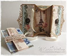 #studiolight #papier | Tres Chic  | Kaart met verrassing **** Card with surprise #phototutorial