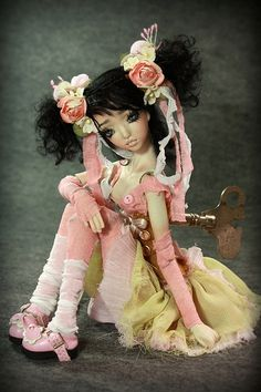 Doll , one of a kind dolls by Aidamaris Roman Forgotten Hearts