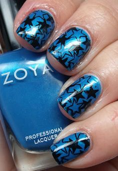 Nail Art with Zoya Tallulah!