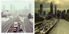 Snowpocalypse in Atlanta and The Walking Dead